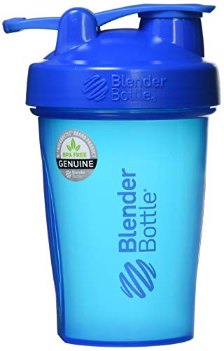 BlenderBottle C01629 Plastic Classic Loop Top Shaker Bottle, 825 ml (Cyan)