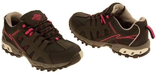 Femmes NORTHWEST TERRITORY randonnée marche chaussures imperméables Fuchsia