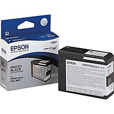 Epson Tintenpatrone Photo-schwarz 5801 für Epson Stylus Pro 3800 -