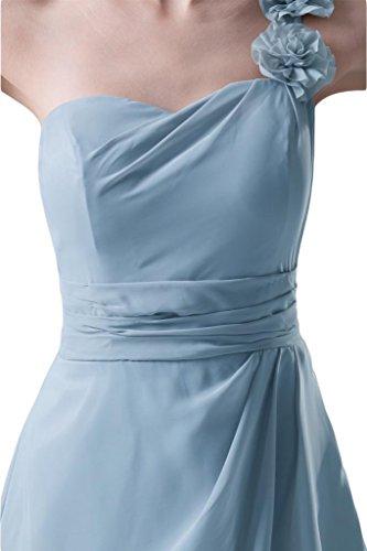 Sunvary Sweety da donna in Chiffon, da damigella d'onore per feste  Azzurro