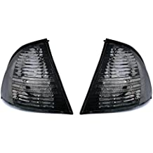 AD Tuning GmbH & Co. KG 960201 - Juego de intermitentes frontales (cristal transparente), color negro