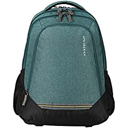 Aristocrat Gusto Fabric 30 Ltrs Green Laptop Backpack (LPBPGUS1GRN)