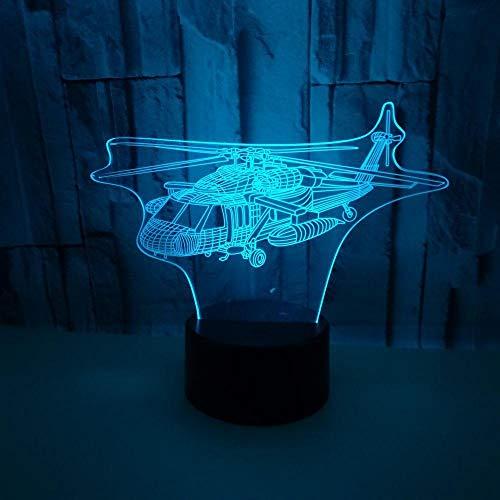 3D LED Lampe Illusion 7 Farben Wickeltisch Nachtlicht Baby Nachttisch Dekoration LED Lampe