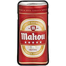 Carcasas de movil Funda TPU Compatible con iPhone XS MAX Cerveza mahou