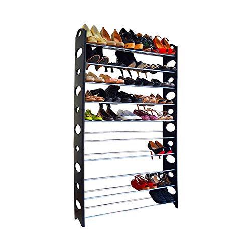 ICA-HOME Zapatero Estantería para Zapatos 18 Pares (95x66x20cm) Color Negro