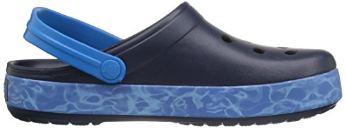 crocs Unisex-Erwachsene Cbndgrphcclg Clogs Blau (Navy)