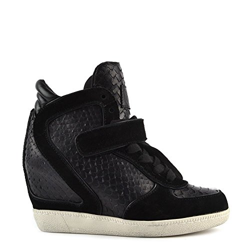 Sneaker Ash Aus Leder Schwarz Damen Brendy AaxaWq5wp