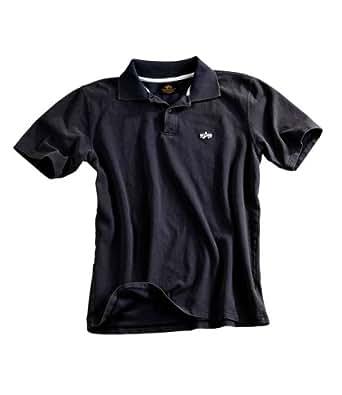 Alpha Industries Classic Polo Poloshirt Black, Bla