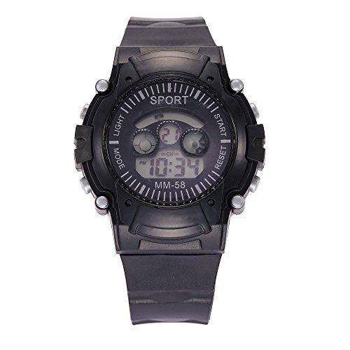 IG-Invictus Wasserdichte Datum LED Digital Sport Quarz Analog Herren Military Armbanduhr Sport Elektronische Uhr ZLF0397