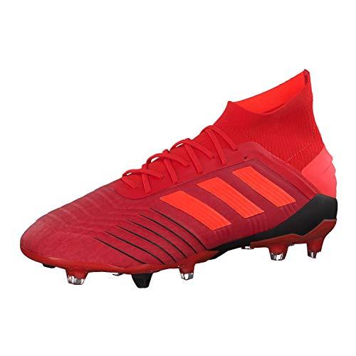 adidas Herren Predator 19.1 Fg Fußballschuhe Mehrfarbig (Rojact/Rojsol/Negbás 000) 45 1/3 EU