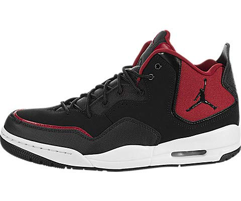 info for 8ef56 2e647 Nike Jordan Courtside 23, Zapatos de Baloncesto para Hombre, Negro Black Gym  Red