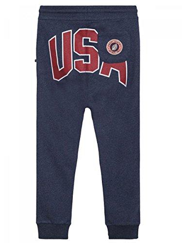 Sweet Pants-Pantalon de Jogging Loose Terry USA Bleu Navy Marl Adulte Mixte a791aee5438