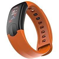 Smart Uhren für iPhone, Miya Smart Armband Bunte Touchscreen Fitness Uhr Wasserdichte Smart Watch Pulsmesser Blutdruck für Android IOS Phone
