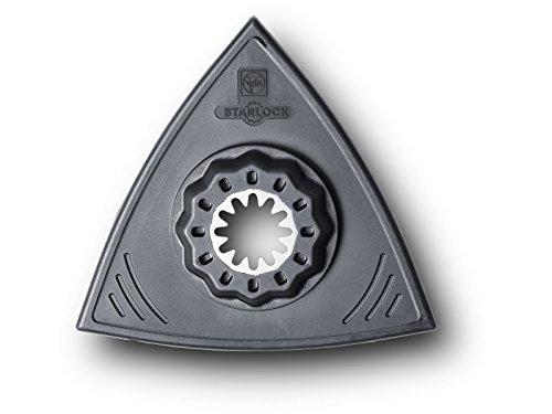 FEIN 63806142220 Platorello SL Triangolare Extra Basso, Confezione da 2