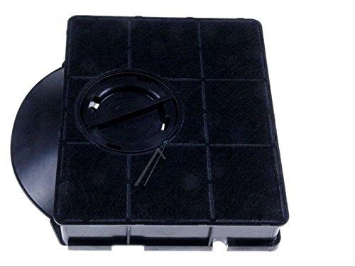 Moondocom - Filtre à Charbon FAT303 / TYPE303 Avec Casquette pour Hotte Whirlpool HOOB20S