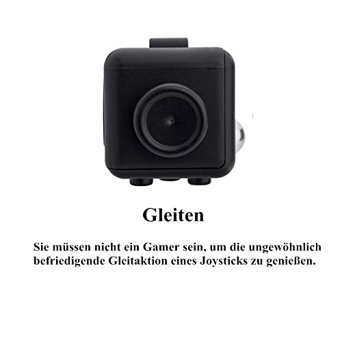 Younger Black Fidget Cube Relieves Stress for Children and Adults - 2