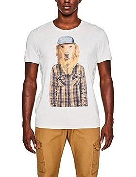 edc by ESPRIT Herren T-Shirt 097cc2k025