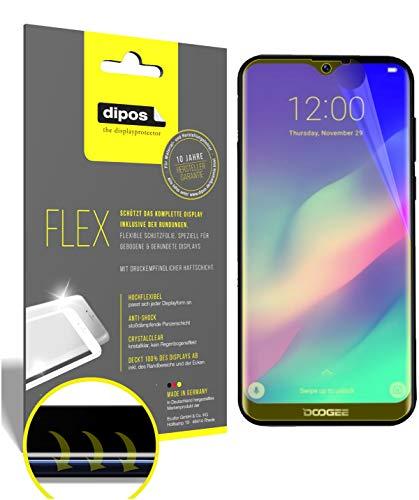 dipos I 2X Schutzfolie 100prozent passend für Archos Oxygen 57 Folie I 3D Full Cover Bildschirmschutzfolie