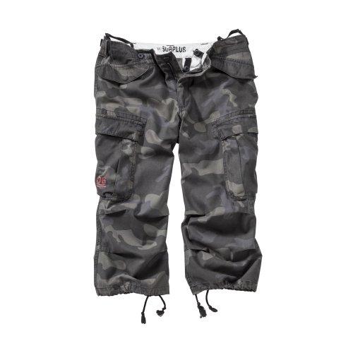 Surplus Engineer Vintage 3/4 Shorts Blackcamo
