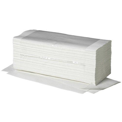 Preisvergleich Produktbild Papier-Handtücher, 1-lagig, C-Falz, PG=20x156 BL (3120ST), 25x23cm, hochweiß