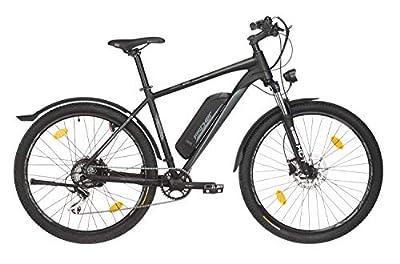 "Fischer E-Bike Mountain Terra 2.0 (2019), graphitschwarz matt, 27,5"", RH 48 cm, Hinterradmotor 25 Nm, 36 Volt Akku, 396 Wh"