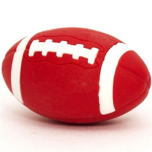 cool red brown eraser American Football