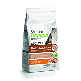 Trainer Solution Cat Hairball Pollo Alimenti Gatto Secco Premium