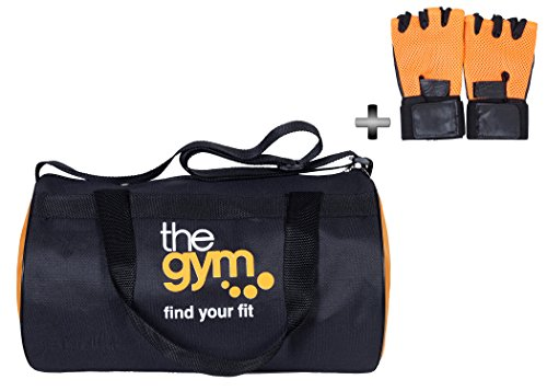 Dee Mannequin Exclusive Gym Bag & Gym Gloves Combo