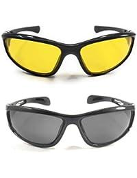32503f03e95b thekingtraders stylish unisex UV-400 Protected Sunglasses Night   day  Driving Glasses Hector Sports sunglasses