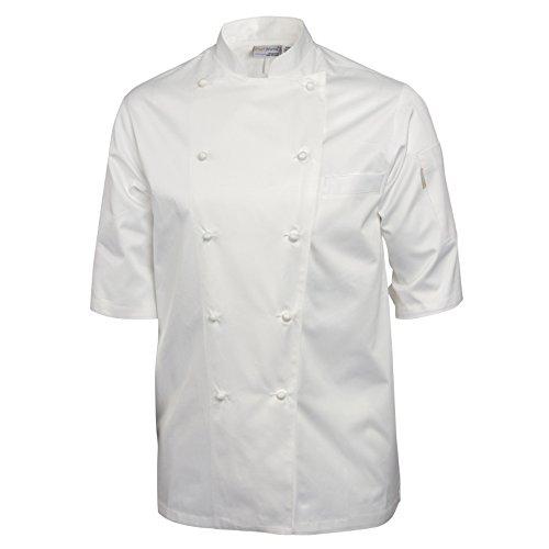 Chef Works A915–40Capri Executive Chefs Jacke, Größe 40, weiß (Chef Mäntel Von Chef Works)