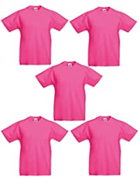 5 PACK FOTL ORIGINAL KIDS BOYS GIRLS T SHIRT