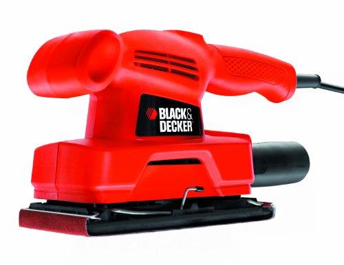 BLACK & DECKER KA300-QS - LIJADORA ORBITAL (135 W  230 V)