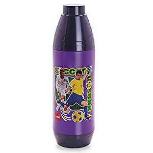 Cello Polo Water Bottle, 900ml, Violet
