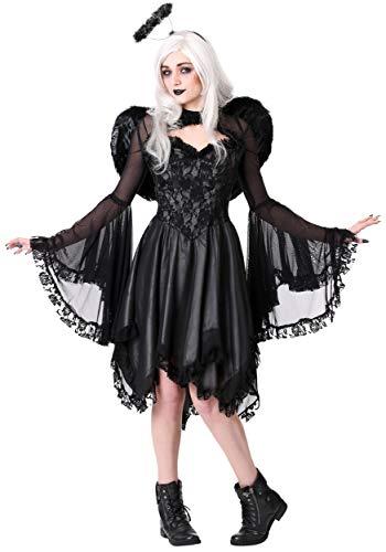 Angels Fancy Dress - Plus Size Women's Classic Dark Angel