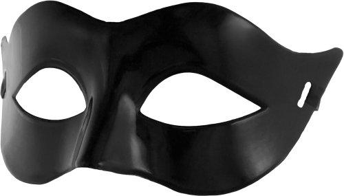 Smartfox Fasching Karneval Venezianische Maske in Schwarz
