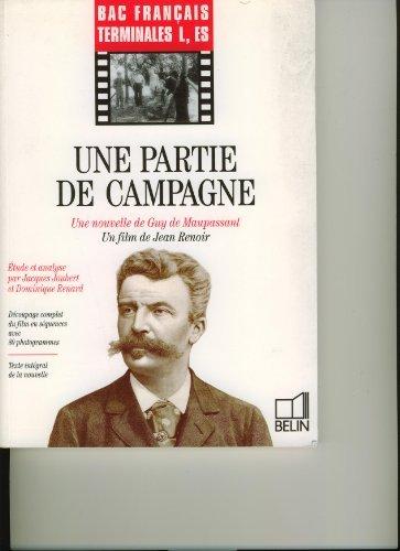 Une partie de campagne : Une nouvelle de Guy de Maupassant, un film de Jean Renoir
