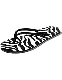Flip Flops de la playa del verano de la muchacha para ocasional, playa, viajando