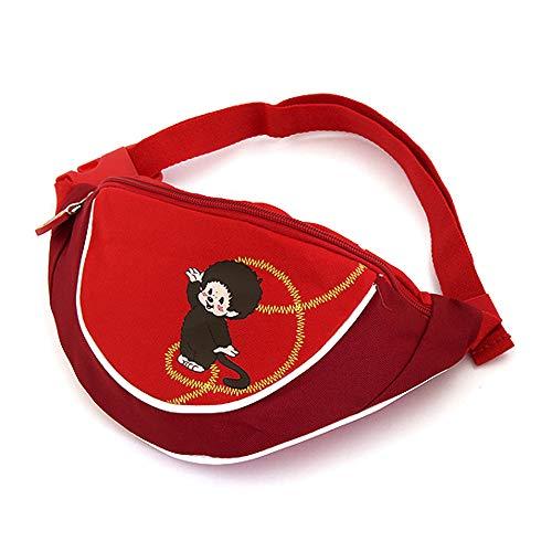 Monchhichi Str86701 Riñonera Interior, Rojo (Rosso)