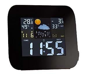Tcm tchibo station m t o radio temp rature int rieure for Station meteo temperature interieure et exterieure