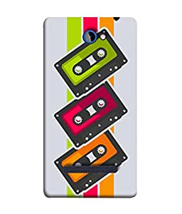 HTC Windows Phone 8S, HTC 8S Back Cover Cassette Icon Design From FUSON