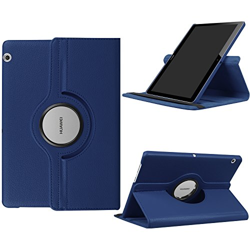 e5dbab415b8 Funluna HUAWEI MediaPad T3 10 Funda - Giratoria 360 Grados Case Funda  Carcasa para Huawei Mediapad