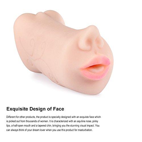 Utimi Vagina Liebespuppen Anal Masturbator 3D Gesicht Sexspielzeug Männer Masturbator - 2