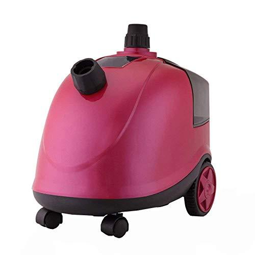 XINYUANJIAFANG tragbares Dampfgeschirr für den Haushalt, tragbar, Dampfer-Halterung, einfache Halterung, Rosa