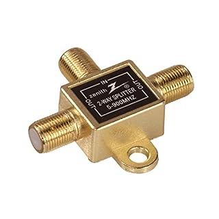 AmerTac - Zenith VS1001SP2W TwoWay Coax Splitter 900Mhz