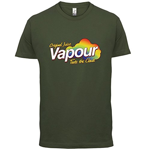 Vapour - Taste The Cloud - Herren T-Shirt - 13 Farben Olivgrün