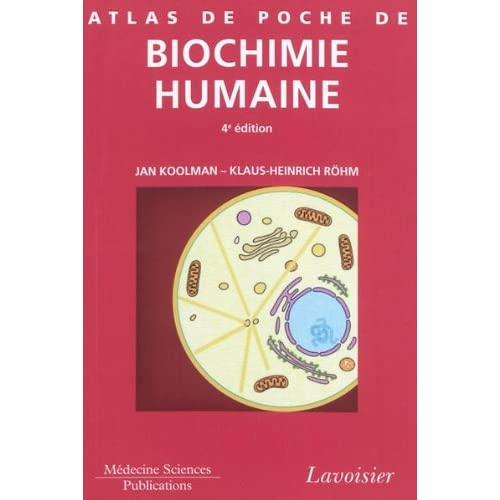 Atlas de poche de biochimie humaine