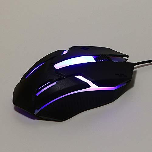 hahuha Toy  Design 1200 DPI USB verdrahtete optische Gaming-Mäuse-Maus für PC-Laptop