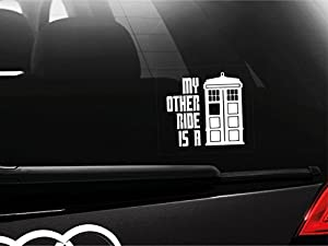 Dr Who - My Other Ride Is A Tardis Car Bumper Window Sticker