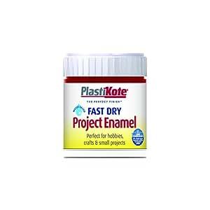 Plastikote B25W 59 ml Enamel Paint Bottle - Metallic Red