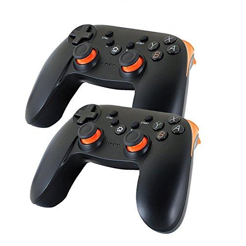 QUMOX 2 x Controlador Gamepad Remote Inalámbrico Bluetooth Wii U Pro para Nintendo Wii U
